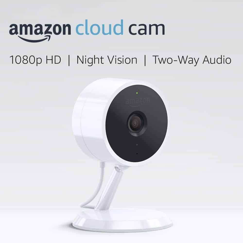 Amazon cloud security camera Works with Alexa