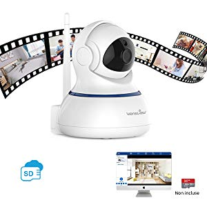 Wansview Wireless 1080P Security Camera, WiFi Home Surveillance IP Camera